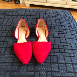Size 9 1/2 wide flats